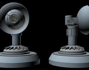 3D model Sci-fi radar 6