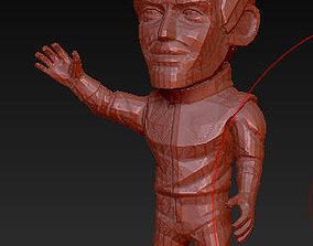 3D printable model F1 Race Stars - Pilot Sebastian Vettel