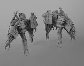 War Beetle and Riders 3D printable model