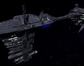 STAR WARS - NEBULON B FRIGATE 3D asset