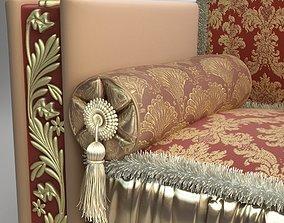 3D Elegant Bolster Pillow
