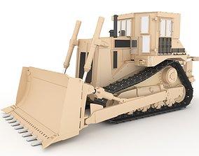 3D model DOZER WORKING MACHINE