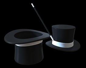 magician hat 3D