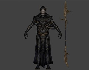 rigged Corvus Glaive Rigged 3d model from Avengers 1
