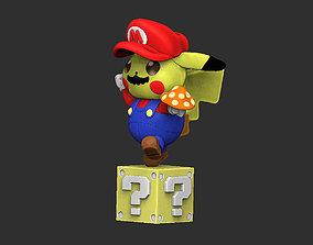 Pikachu Mario ooo Pokemon Mario broos ooo 3D print model