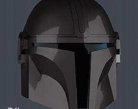 3D printable model The Mandalorian Helmet - STL File