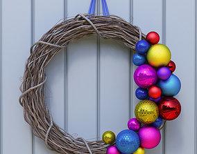 tree 3D Christmas Wreath