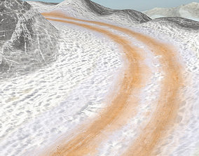 3 Awesome Off road Racing tracks 3D asset
