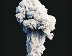 3D model Smoke Explosion 2
