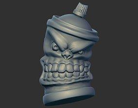 3D print model Spray paint