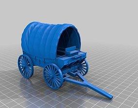 3D printable model Pioneer Wagon