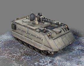 USA Army M113 M163 Vulcan Self propelled air 3D asset 1