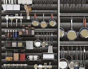 shelf 3D model Little things for the kitchen