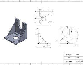90 Degree Machinist Angle Plate 3D print model