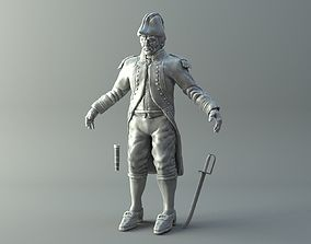 Naval Captain 3D printable model