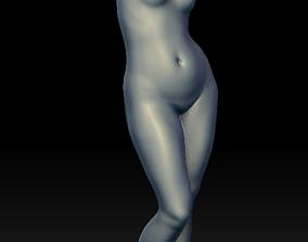 18th Century Woman Sculpture 3D print model