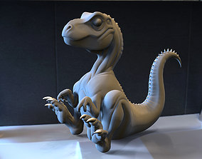 Baby Trex for 3D Printing dinosaur