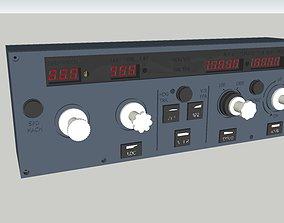 AIRBUS A320 FLIGHT CONTROL UNIT FCU 3D print model