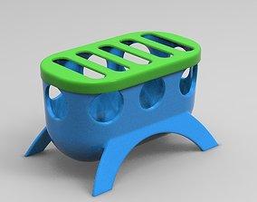 Quail Baby Food Feeder Smaller Version 3D printable model