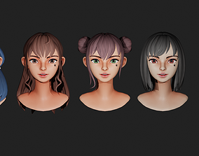 3D model CAA Character Stylized