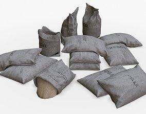 3D model Sugar Bags Assets