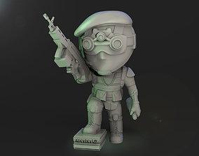 Speznat Chibi 3D print model