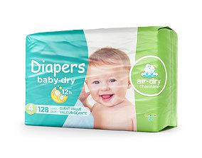 Diaper pack 3D
