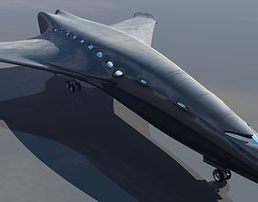 Passenger Transport Spaceshuttle 3D print model