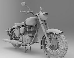 3D Royal Enfield Classic 350