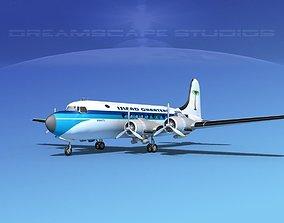 3D Douglas DC-4 Island Charters