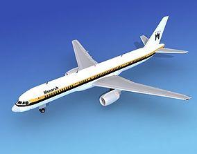 Boeing 757-200 Monarch 1 3D model