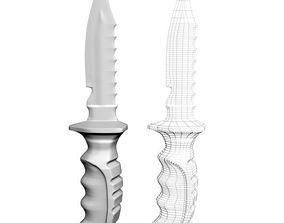 Knife 01 3D model