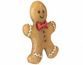 Gingerbread Man 3D PBR