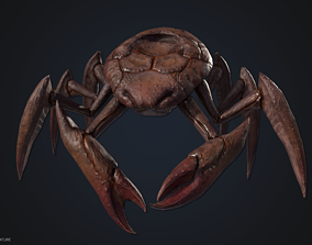 Crustacean creature 3D asset VR / AR ready