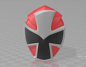 3D printable model Power Rangers Red Ninninger AkaNinger 1