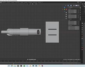 3D print model EDTA Throwing Dart
