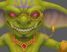 3D asset realtime Goblin