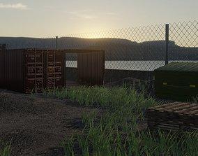3D asset Call Of Duty Modern Warfare Remastered Shipment 1