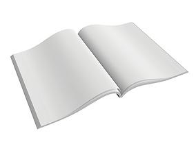 Magazine opened 02 3D model
