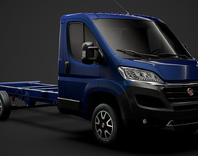 Fiat Ducato Chassis Truck Single Cab 4035XL WB 3D model 1