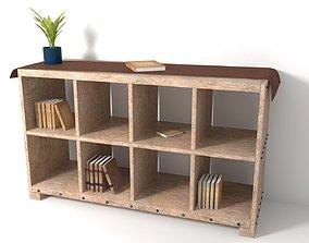 Book Case 3D cabinet