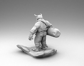 3D printable model Angry Orc