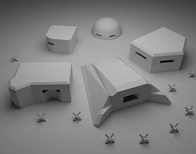 War Pillboxes 3D print model