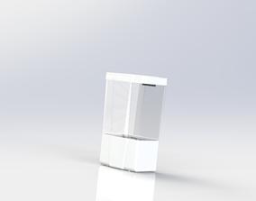 Automatic Sanitiser Dispenser 3D