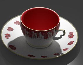 Teacup Set 3D asset