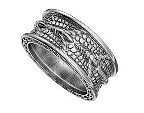 3D printable model N184 Dragon nail ring