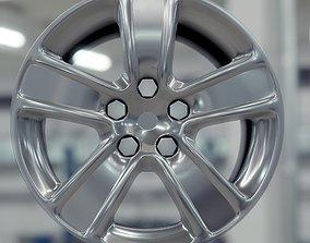 Car rim volkswagen 3d model tire