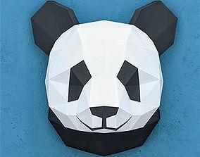 PANDAS PAPER HEAD 3D model