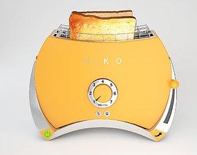 Toaster modern 3D