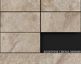 Keros Redstone Crema 300x600 3D model
